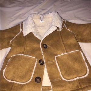 Baby's brown jacket